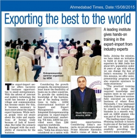 Export Import Opportunities
